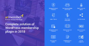 ARMember Complete Solution for WordPress